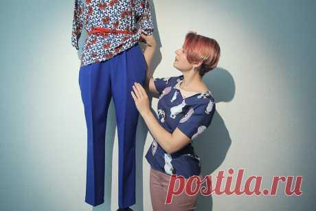 Как быстро сшить себе классические брюки. Мастер-класс по шитью для начинающих.   yana.levashova.designer   Яндекс Дзен