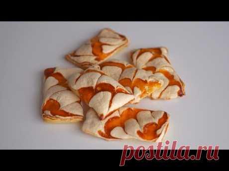 Печенье с меренгой и джемом