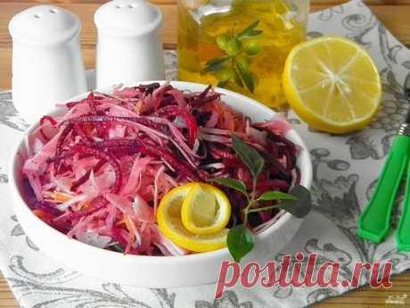 """Салат """"Щетка"""" для похудения - пошаговый рецепт с фото на Повар.ру"""