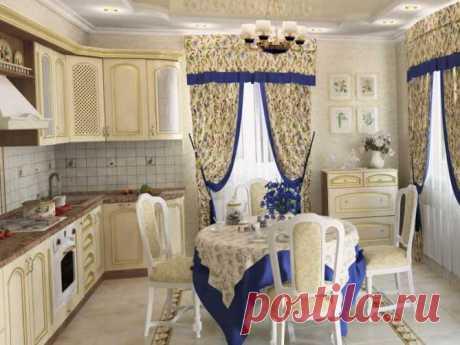 Какие шторы повесить на кухне | Роскошь и уют