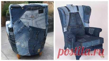 Что сшить из старых джинсов: идеи для рукодельниц, вещи своими руками. Фото