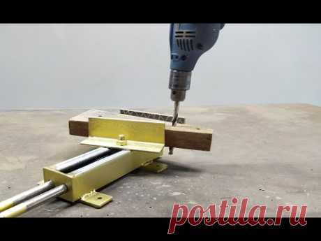 How To Make A Bench Vise | Homemade Bench Vise Without Threaded Rod