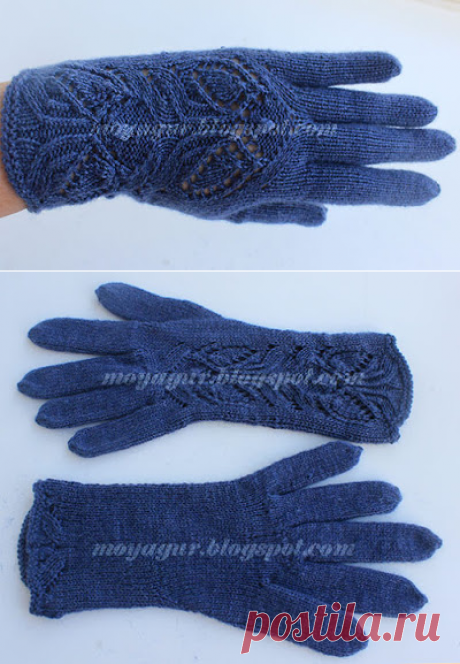 Вяжем вместе: Женские перчатки