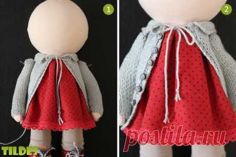 Шьем туловище и одежду для куклы.... Обсуждение на Блоги на Труде