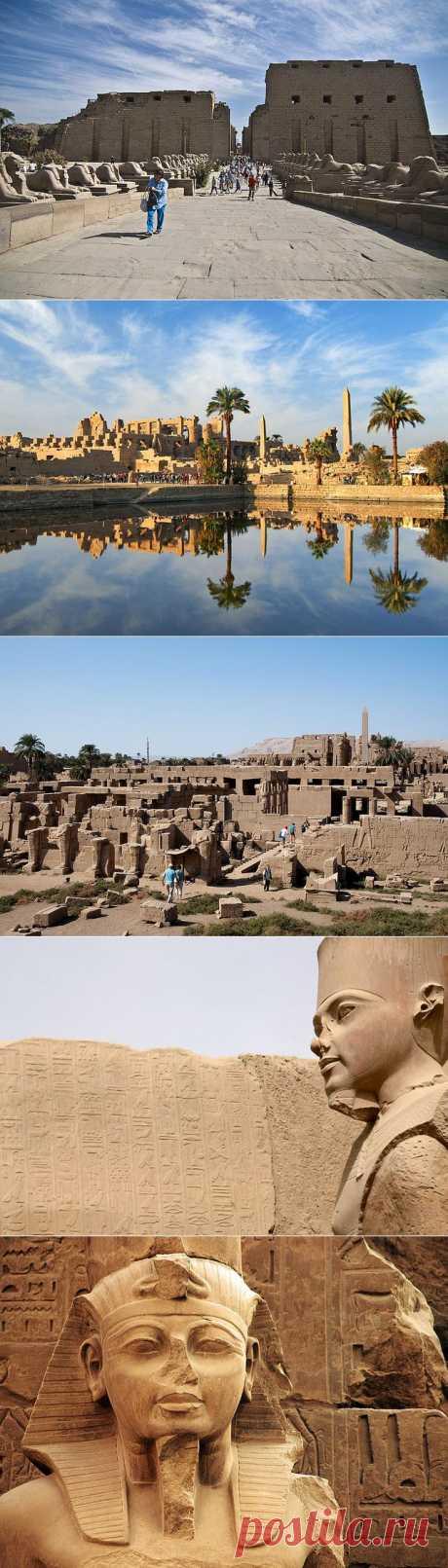 Карнакский храм фото и история