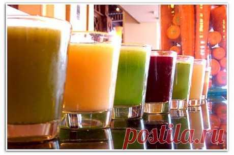 Самые лучшие напитки для похудения и очищения организма.