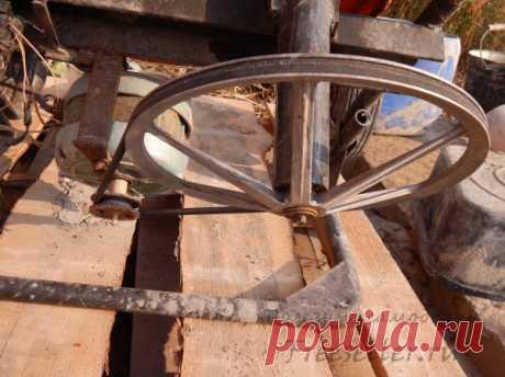 Бетономешалка своими руками из металлолома