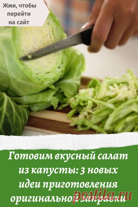 Готовим вкусный салат из капусты: 3 новых идеи приготовления оригинальной заправки