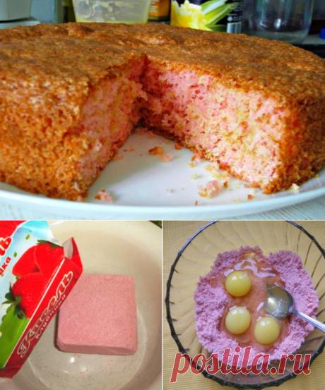Пирог из сухого киселя в домашних условиях - Типичный Кулинар