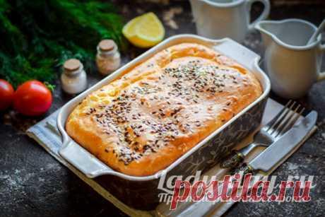 Пирог на кефире с майонезом в духовке, заливной на скорую руку | Простые рецепты с фото