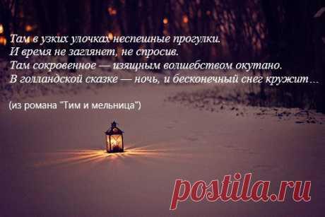 """Из романа """"Тим и мельница"""""""