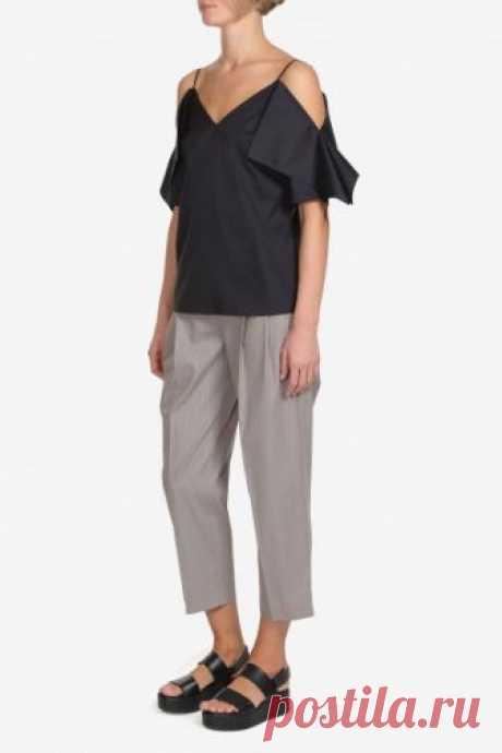 Официальный интернет магазин VASSA&Co - Женская коллекция - Блузка V186363N-1292C99