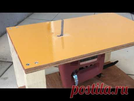 DIY ジグソーテーブルの作り方 Making Jigsaw table.