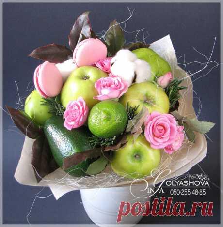 Gallery.ru / Фото #85 - Букеты из овощей и фруктов - nekto1