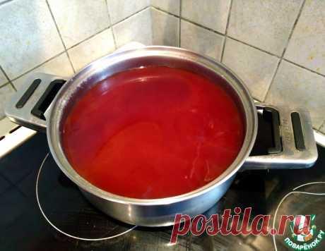 Кисель из сушеного шиповника – кулинарный рецепт