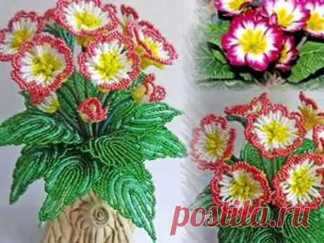 Цветы из бисера . Вечная любовь