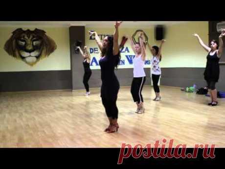 MAMBO SALSA Ladies styling Irene Miguel's SOY LATINA www.danzalifestyle.tv
