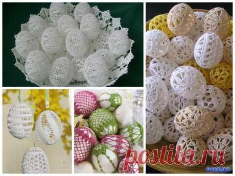 Декор пасхальных яиц - DoItCraft