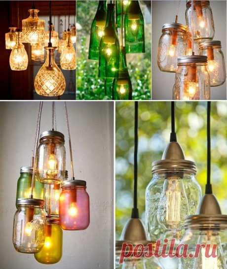 Светильники из банок — DIYIdeas