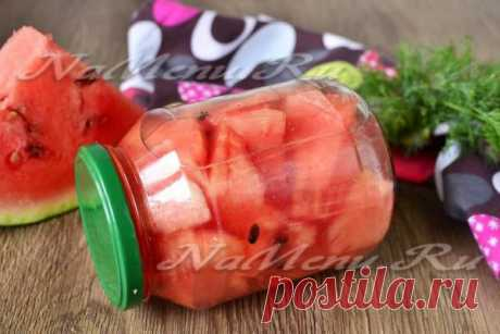 Marinated water-melons - just a fantasy!!!