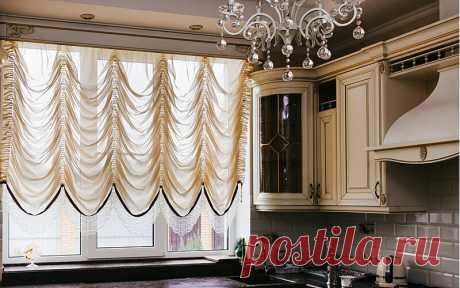 Короткие шторы для кухни: практичность, изящество и красота - популярные модели   Dream house   Яндекс Дзен