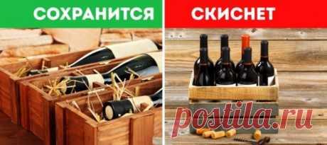 Как правильно хранить бутылки с вином? — Полезные советы
