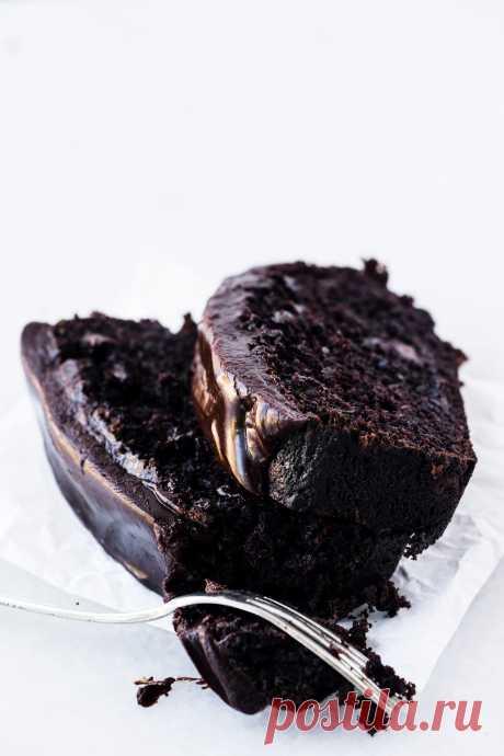 Смерть от шоколадного хлеба из кабачков / вид с Большого острова