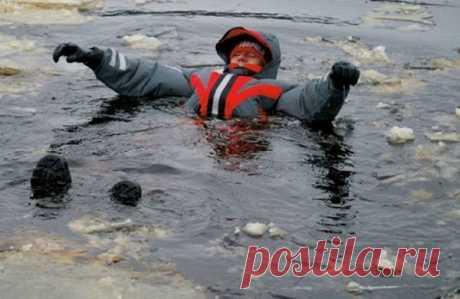 Что делать, если вы провалились под лед   ПОРЫБАЧИМ!   Яндекс Дзен