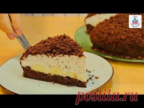 """Знаменитый Торт """"НОРКА КРОТА"""" очень нежный торт (пирог)!"""