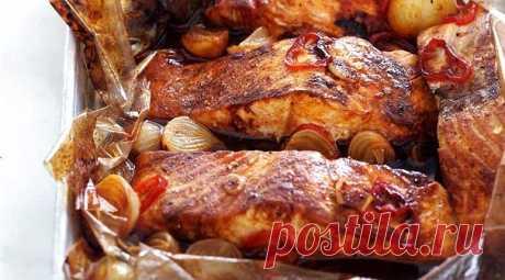 Рыба в пакете для запекания Рецепт приготовления вкуснейшей рыбы в пакете для запекания.