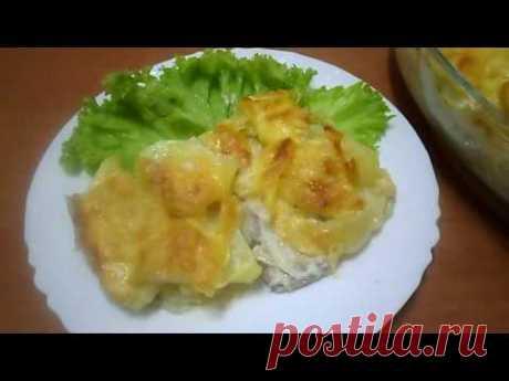 Картошка с мясом по-французски - простой, проверенный рецепт (раскрываю свой секрет) | Вкусные рецепты | Яндекс Дзен