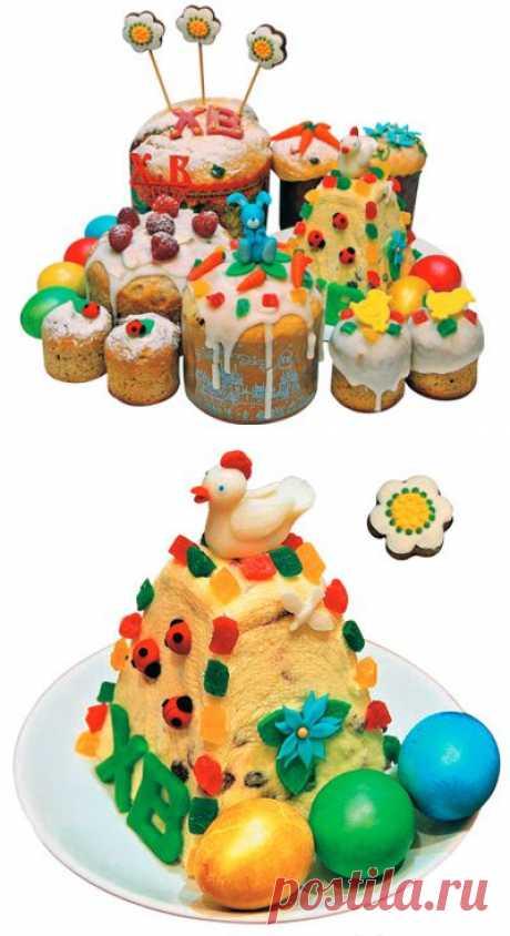 Рецепты кулича, пасхи и других сладостей для пасхального стола. Пасхальные рецепты