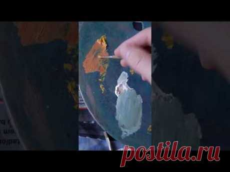 Cubist oil painting by Eugene Ivanov in progress. 2019. Part. 1 - YouTube