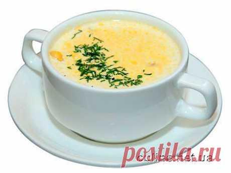 Сырный суп-пюре | Вкусные кулинрные рецепты