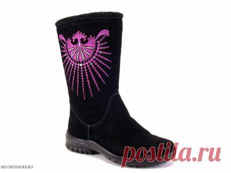 Сапожки дошкольные Марко 5925, велюр - детская обувь, обувь для девочек, сапоги. Купить обувь Marko