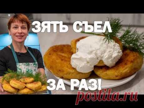 Нежные картофельные котлеты с овощами и лимонным соком