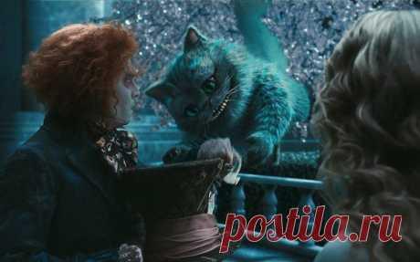 """— Как тебя понимать? — Понимать меня необязательно. Обязательно любить и кормить вовремя. (c) """"Алиса в стране чудес"""" Чеширский Кот"""