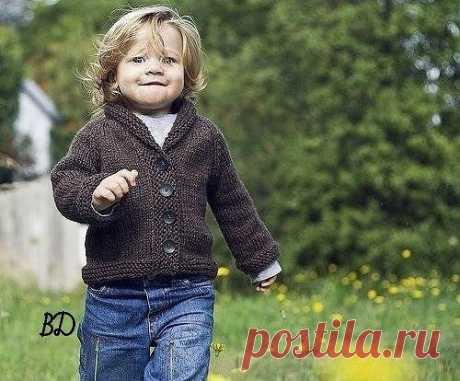 Стильный кардиган для мальчика