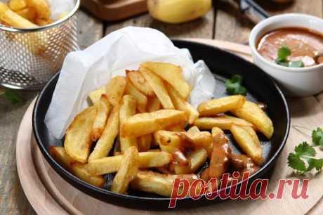 Бельгийский картофель фри с соусом – пошаговый рецепт с фото.