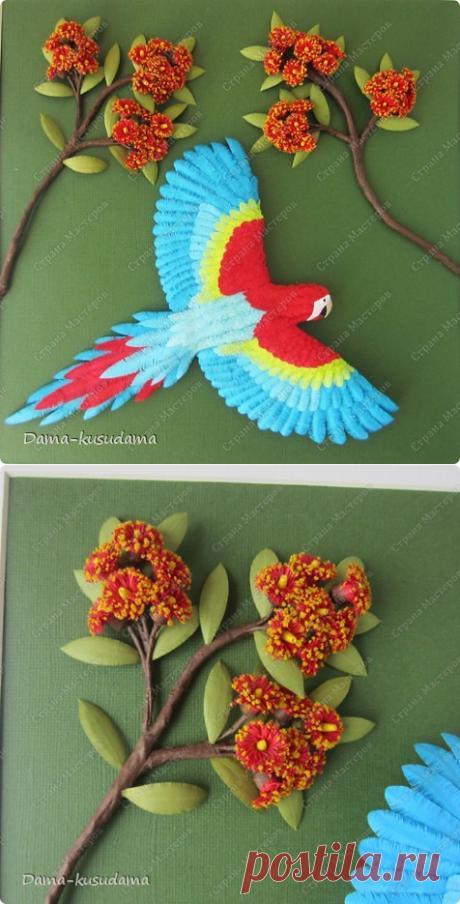 Полёт попугая и МК