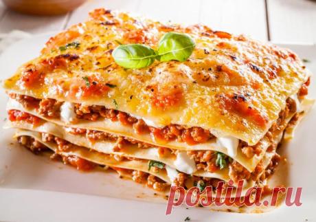 Лазанья — Sloosh – кулинарные рецепты