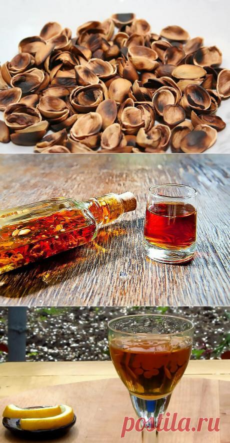 Как сделать ароматную фисташковую настойку на самогоне? Жарим фисташки и настаиваем | Про самогон и другие напитки 🍹 | Яндекс Дзен