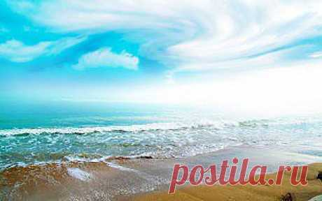 Обои Моря/Океаны, обои для рабочего стола Моря/Океаны, фотографии кеан, свет, облака, волны, пляж, Обои для рабочего стола, скачать обои картинки заставки на рабочий стол.