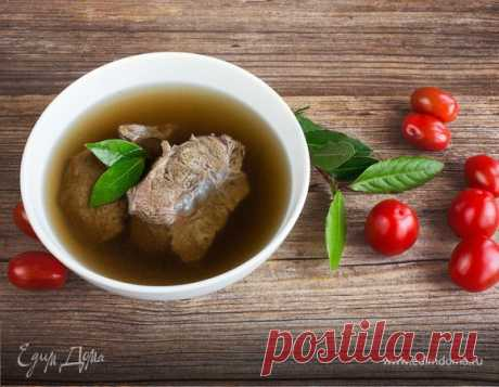 How to cook meat broth