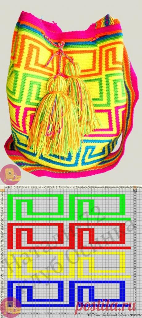 Колумбийская мочила: схемы — Сделай сам, идеи для творчества - DIY Ideas