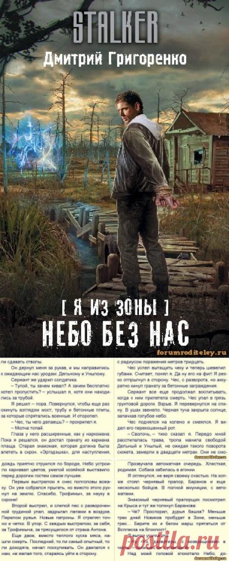 Дмитрий Григоренко - Я из зоны. Небо без нас (2017) (книга из серии СТАЛКЕР) - скачать :: социальная сеть родителей