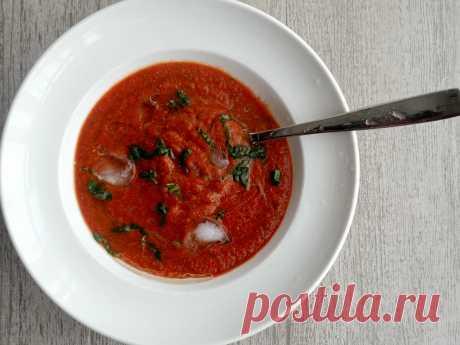 Самый летний кислый суп. И это не окрошка. Вот мой вариант рецепта гаспачо   Домашняя кухня Алексея Соколова   Яндекс Дзен