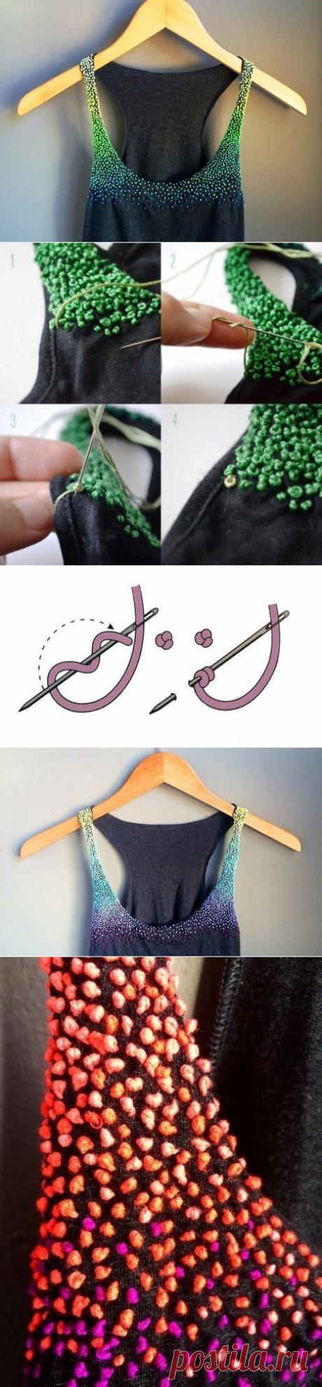 Украшаем вещи узелками — Сделай сам, идеи для творчества - DIY Ideas