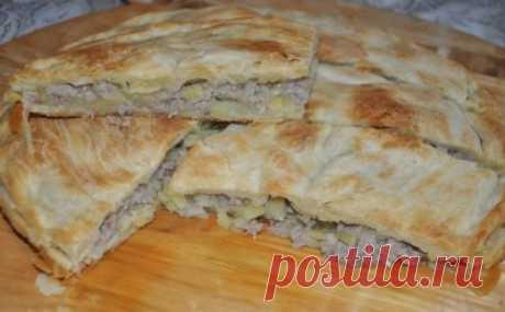 Цкан с капустой или мясом (Лезгинская кухня)