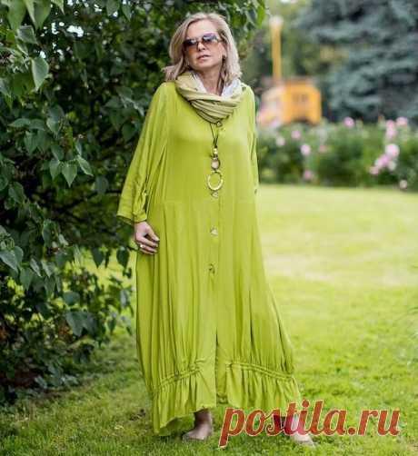 Элегантная одежда в стиле БОХО: 14 образов для полных женщин 45+ | Игривая мода | Яндекс Дзен
